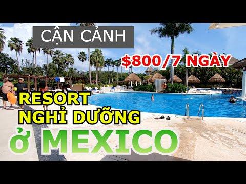 KHU RESORT NGHỈ DƯỠNG 5 SAO BAO TRỌN GÓI ĂN CHƠI THẢ GA $800/NGƯỜI SIÊU RẺ Ở MEXICO