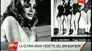 BIM BAM BUM ESTRENO ENTREVISTA PEGGY CORDERO EN CHILE 24HORAS TVN 13 06 2013)