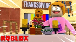 Roblox Bloxburg Decorating For Thanksgiving!