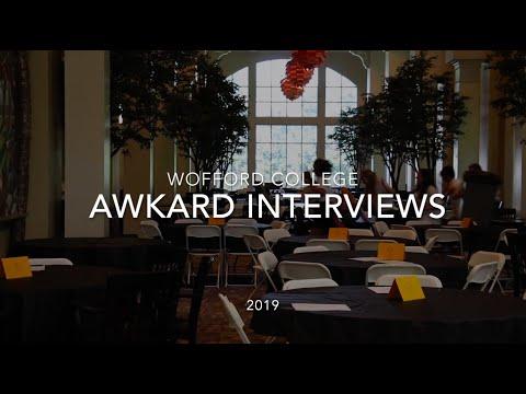 Wofford College Summer Orientation Awkward Interviews 2019
