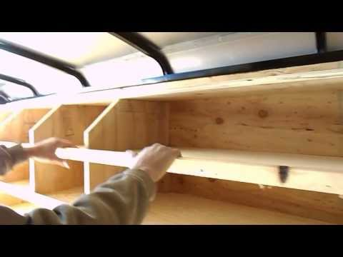 CONSTRUCTION TRAILER SHELVES LAYOUT