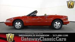 1990 Buick Reatta Convertible #604-ndy - Gateway Classic Cars - Indianapolis