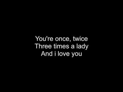 Three Times A Lady (Lionel Richie) - HD With Lyrics! By: Chris Landmark