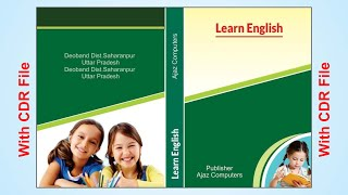 how to create book title and page cover design in coreldraw part 2