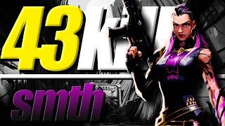 【大興奮】ロシア製キルマシーン大会で43キルの大暴れ!smith VALORANT大会ハイライト INS vs HX