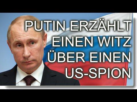 Putin erz hlt einen Witz ber einen US-Spion