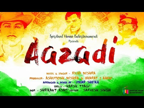 """""""AAZADI""""- (OFFICIAL VIDEO) 
