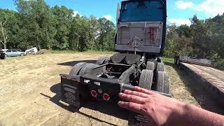 53 Upgrade тягача Freigthliner под трал (lowboy) Давид Kamaz Ручная работа