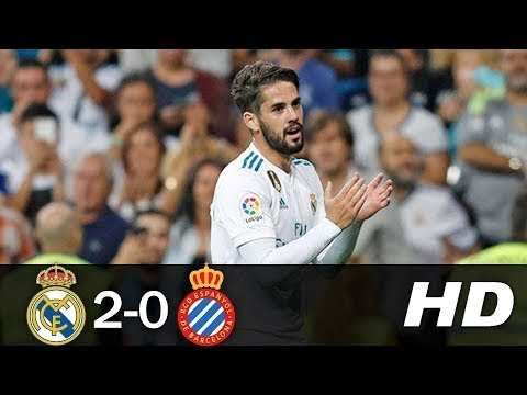Real Madrid vs Espanyol 2-0 | All Goals and Highlights | 01.10.17