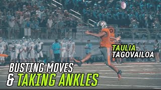 Alabama Commit Taulia Tagovailoa Puts Up 5 TDs And BREAKS ANKLES! QB Shows He's A DUAL THREAT ⚡️