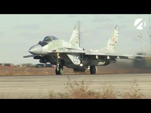 В небе над Астраханью – сербские истребители