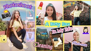 Village🏡 Vlog: A Busy Day In My Life | Photoshoot, Cleaning, Haircare & More...