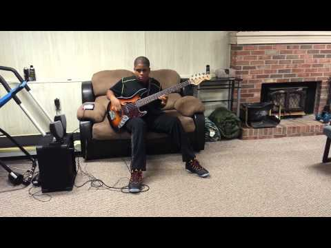 We Are Victorious by Donnie McClurkin (bass cover)
