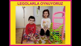 Legolarla oynuyoruz...Eğlenceli Çocuk videosu...