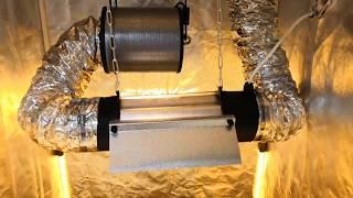 Как установить угольный фильтр в гроубоксе
