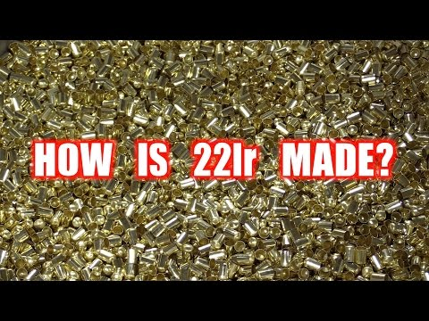 HOW IS 22lr AMMUNITION MADE? TOUR OF CCI AND SPEER.