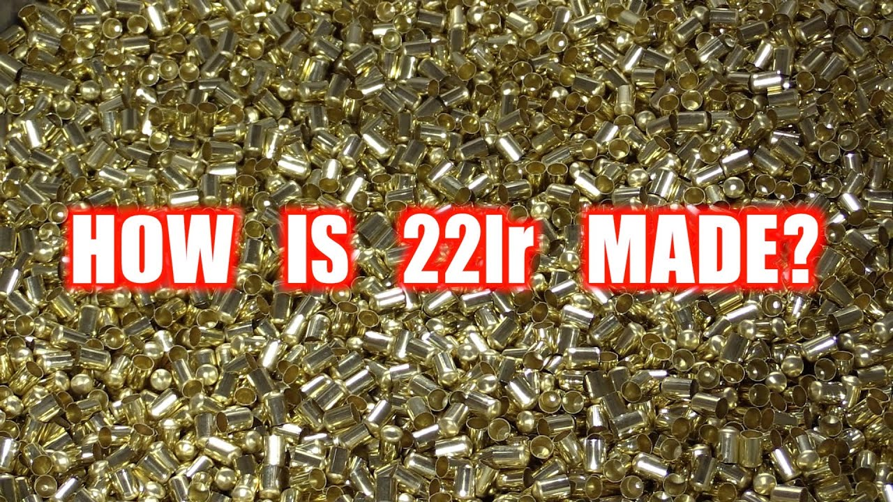 HOW IS 22lr AMMUNITION MADE? TOUR OF CCI AND SPEER