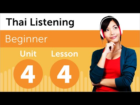 Thai Listening Practice - What Time is it Now in Thailand?
