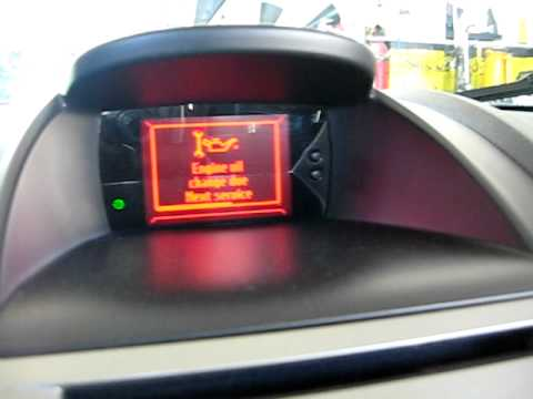 2012 Ford Focus Oil Change >> HOW TO RESET OIL LIGHT FORD FIESTA FOCUS - YouTube