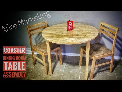 Coaster 3-Piece Dining Set:Review & Assembly