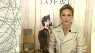 Alejandra Silva durante la presentación de Solo Loewe
