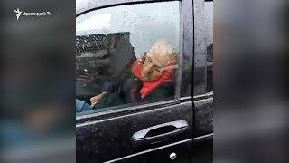 Երկարատև խցանման պատճառով վարորդը ննջում է ղեկին
