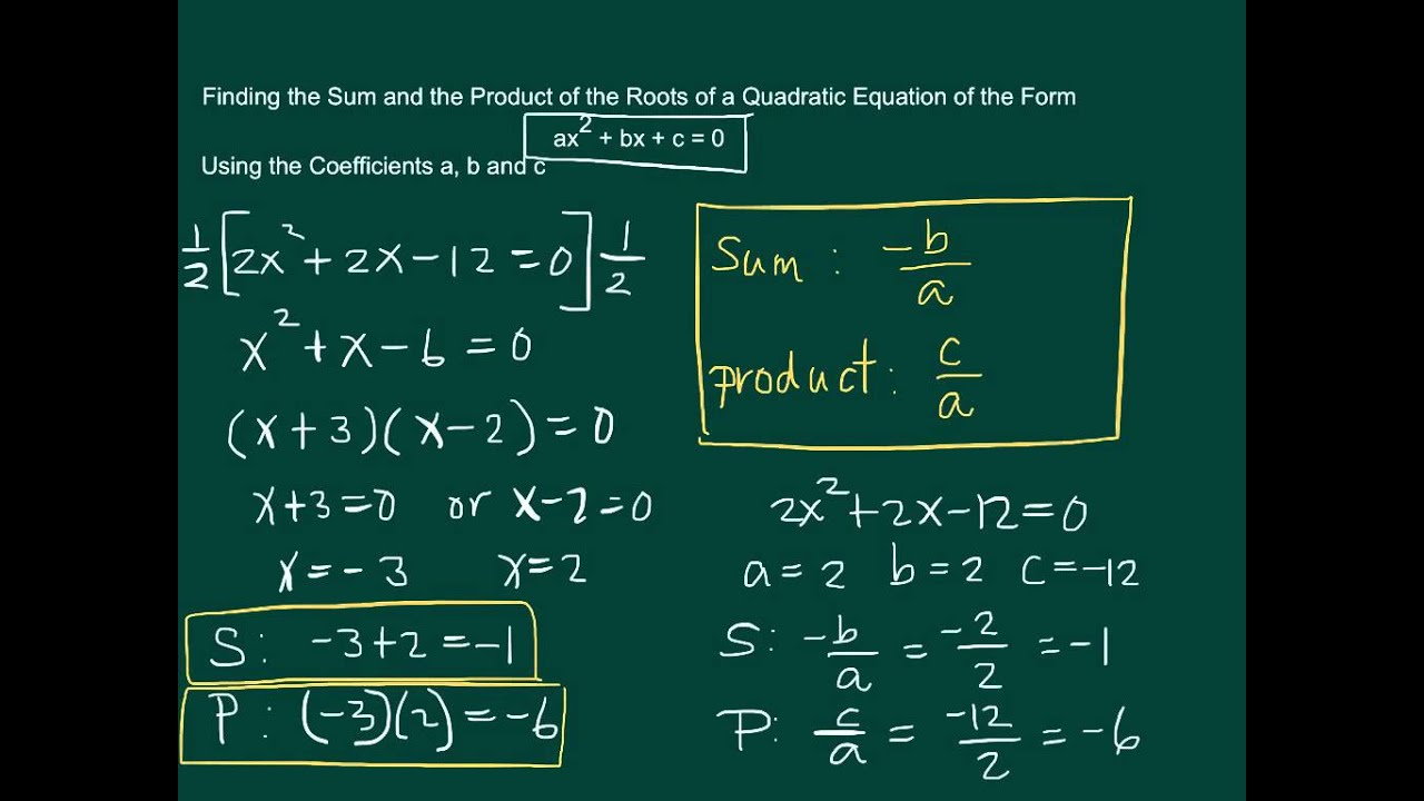 How to find the roots of the equation 25