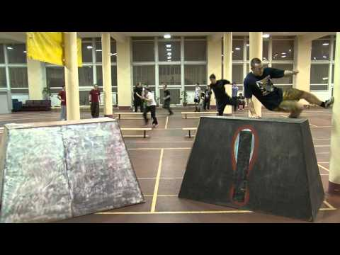 Moscow Parkour Academy Gym Training