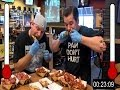 Triple Buffalo Wild Wings Blazin' Eating Challenge