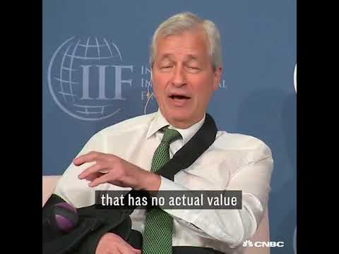 Jamie Dimon: if you stupid enough to buy bitcoin, you'll pay for it
