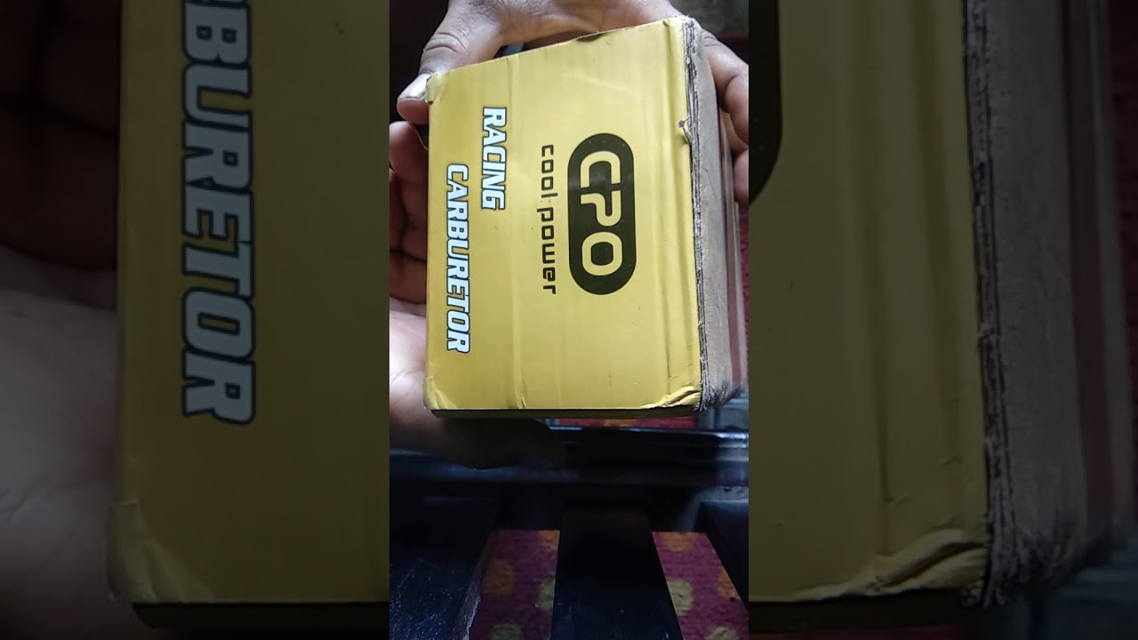 UNBOXING KARBURATOR PWK 28    CPO B-RACING - YouTube