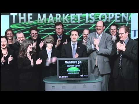 2012 TSX Venture 50 Opens Toronto Stock Exchange, April 4, 2012.