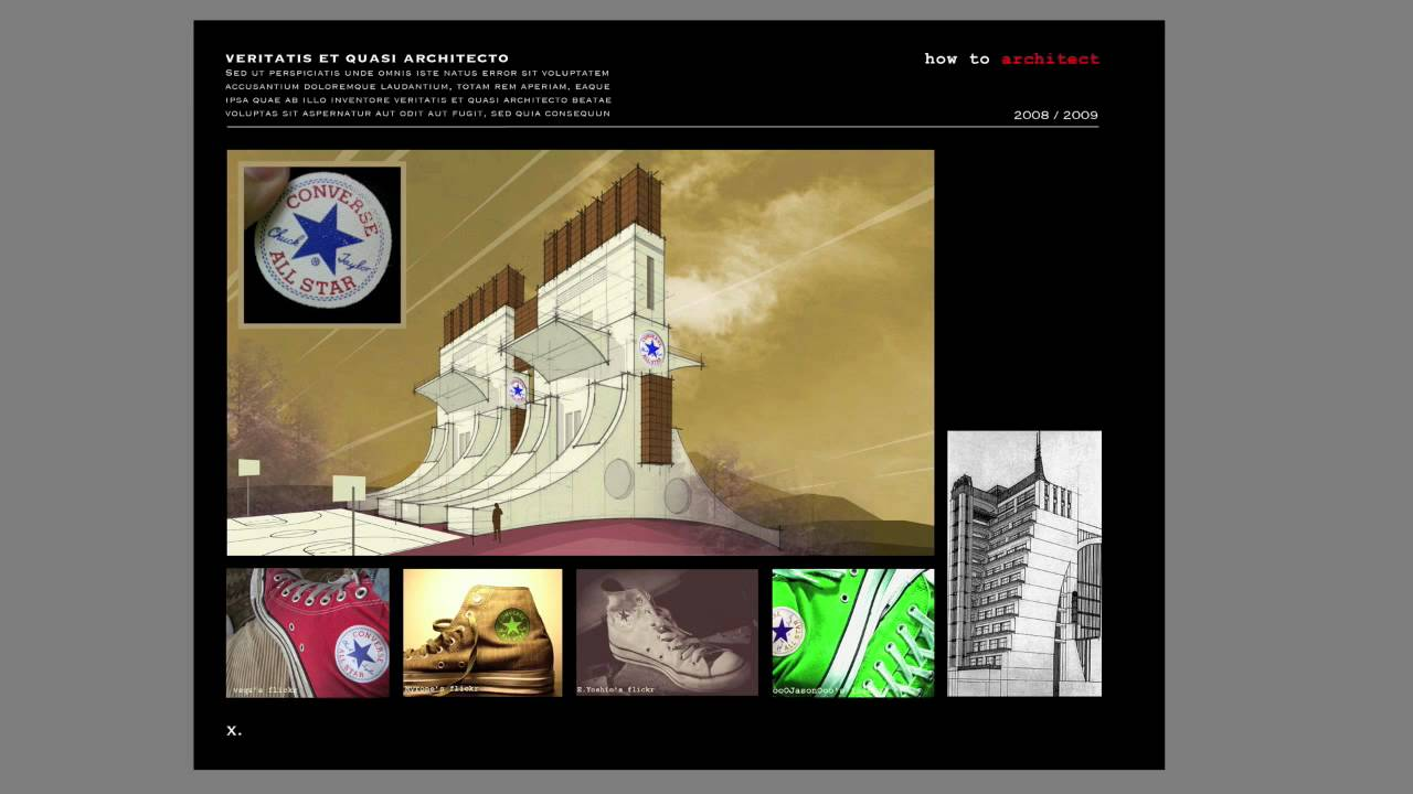 How to create an Architecture Portfolio | Photoshop