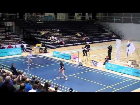 SM 2012 NK loppuottelu: Nanna Vainio vs Airi Mikkelä