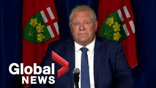 Ontario Premier Ford says students won't return to in-class learning until fall | FULL
