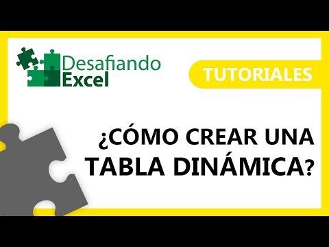 ¿Cómo crear TABLAS DINÁMICAS en Excel? | Tutoriales de Excel #3