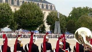 LA FANFARE DE LA GARDE REPUBLICAINE !  VOUS ASSUREZ GRAAAAAVE ! DADA ! SAMEDI 24 SEPTEMBRE 2011