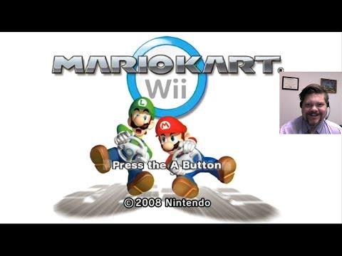 Mario Kart Wii - Nintendo Wii (Wii-U Virtual Console)    VGHI Play 'n' Chat Live Stream