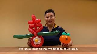Lunar New Year Balloon Decorations Tutorial | Singapore Airlines