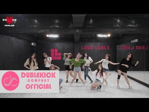 MOMOLAND(모모랜드) - '꼼짝마(Freeze)' Dance Practice