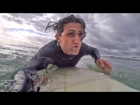 Thumbnail: Surfing with GREAT WHITE SHARKS