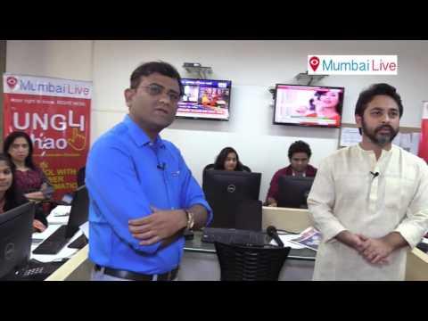 Ex. Member Of Parliament Nilesh Narayan Rane Interacting With Mumbai Live Team