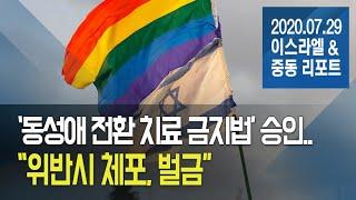 [Brad TV] 이스라엘&중동 리포트 2020년 7월 29일. 이스라엘 의회, '동성애자 전환 치료 금지법안' 예비투표 통과