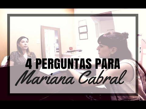 4 perguntas para a nutricionista Mariana Cabral