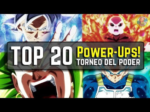 TOP 20 Mejores Power-Ups del Torneo del Poder | Dragon Ball Super