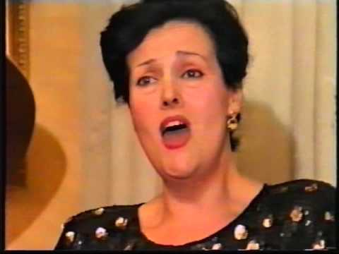 Ottavia Vegini - Soprano - Concerto Lirico di Arie Famose Firenze 23 novembre 1996