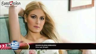 Gambar cover Maria-Elena Kiriakou - One Last Breath   Eurovision 2015 - Greece