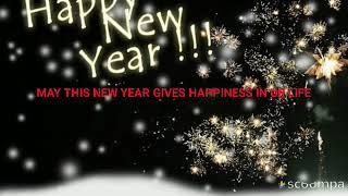 HAPPY NEW YEAR 2018 新年 nouvel An Ano nuevo Novyy god WHATSAPP STATUS GREETINGS GIF MESSEGES INSTA