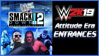 WWF 2K19: Attitude Era 2001 Entrances