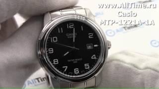Обзор. Мужские наручные часы Casio MTP-1221A-1A